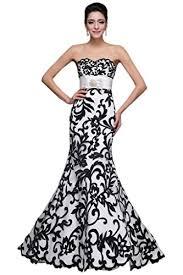 schwarz weiãÿ brautkleid brautkleider sunvary in weiß für damen
