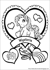 my little pony coloring pages free for kids kids printables
