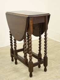 small antique english barley twist gateleg table at 1stdibs