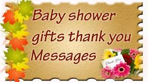Thank You Cards For Baby Shower Gifts - baby shower gifts thank you messages
