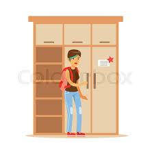 woman choosing dresser for wardrobe smiling shopper in furniture
