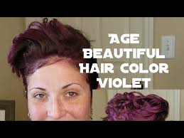 age beautiful hair color reviews age beautiful hair color 5v review application youtube