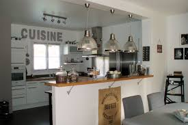 creer une cuisine creer une cuisine ouverte awesome modele americaine 3 bar