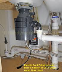 Kitchen Sink Leaking Underneath by How To Wire An Electrical Outlet Under The Kitchen Sink Wiring Diagram