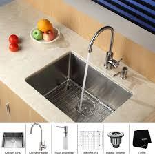 Stainless Steel Undermount Kitchen Sink by Stainless Steel Kitchen Sink Combination Kraususa Com