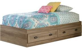 Oak Platform Bed Beaumont Gray Oak Platform Bed Cb Furniture