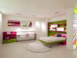 girls bedroom fascinating pink and green room decoration