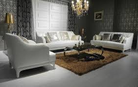 Luxury Leather Sofa Sets Divani Casa D6000 Modern Tufted Leather Sofa Set