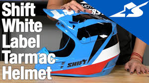 shift motocross helmets white label tarmac helmet review motorcycle superstore youtube