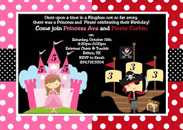 pirate princess party invitation u2013 orderecigsjuice info
