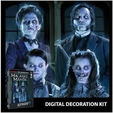 halloween props uk atmosfx halloween digital decorations projector kit macabre manor