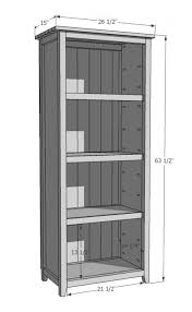 Wood Shelves Plans by Best 25 Rustic Bookshelf Ideas On Pinterest Bookshelf Diy Diy