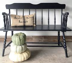 lamp black farmhouse bench general finishes design center