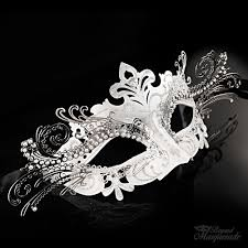 white masquerade masks for women heiress masquerade mask silver white m7100 beyondmasquerade