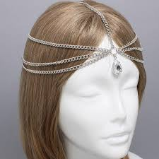 fashion hair ornament indian jewelry wedding bridal hair
