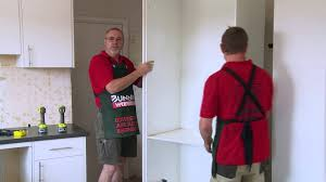 How To Install A Pantry Cabinet How To Install A Kitchen Pantry Diy At Bunnings Youtube