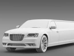 chrysler 300c chrysler 300c 2013 limousine by creator 3d 3docean