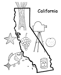 california map outline usa printables state outline shape and easy demographic map 2