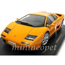 lamborghini diablo orange autoart lamborghini orange diecast vehicles ebay