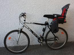 vélo avec siège bébé a propos