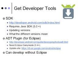developer android sdk index html android for java developers denver java users jan 11 mike