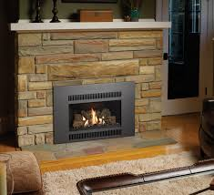 avalon radiant plus small gas fireplace insert h2oasis