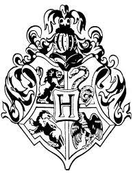 hogwarts crest rubber stamp diy u0027s harry potter week lots