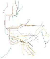 Portland Metro Map by Quiz Can You Name These Cities Just By Looking At Their Subway