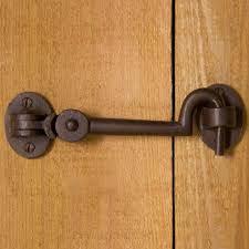 Interior Door Locks Solid Bronze Cabin Door Hook Latch Sliding Barn Doors Bathroom