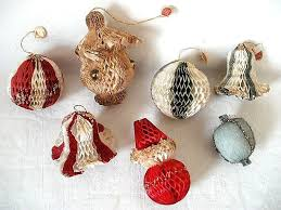 Vintage Christmas Decorations 30 Best Vintage Christmas Honeycomb Decorations Images On