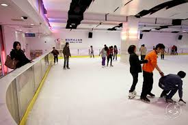 How To Build A Ice Rink In Your Backyard Ice Skating In Shanghai 2016 Smartshanghai