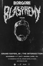 upcoming events the intersection borgore blasphemy tour