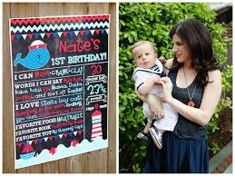 the sparkly life ahoy nate y a nautical first birthday party