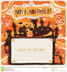 free halloween flyer background halloween flyer stock vector image 58949733
