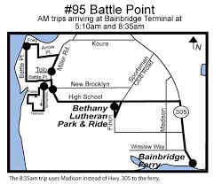 95 battle point kitsap transit
