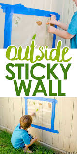 outside sticky wall fun outdoor activities activities and
