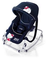 kitty baby rocker navy canopy dads baby shop