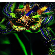 green mardi gras mask 10x10ft green tone mardi gras mask diamond masquerade