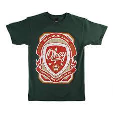 obey clothing obey clothing propaganda brewing co t shirt evo