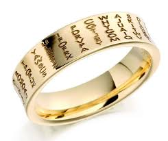 wedding ring engraving wedding ring engraving to personalize your rings marifarthing