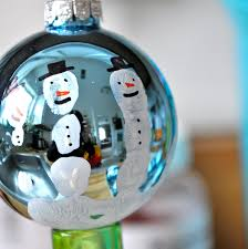little bit funky make these now handprint snowman ornament