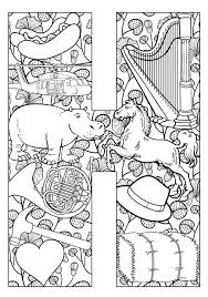 108 coloring pages adults u0026 kids images