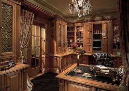 Office  Admirable Luxury Home Office With Oak Furniture Design - Luxury home office design