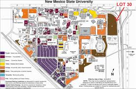 New Mexico State Map by Parking Instructions Campus Link 2015 International And Border