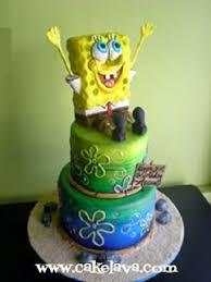 spongebob birthday cake cakelava spongebob birthday cake