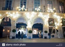 paris france luxury christmas window shopping chaumet jewelry