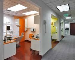 Dental Office Photos Astonishing White And Grey Color Schemed - Dental office interior design ideas