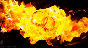 rings with fire images Wedding rings in fire loon watchman blog loon watchman jpg