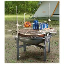 furniture u0026 accessories using fire pit cooking grates in large