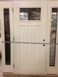 Feather River Exterior Doors Overstock Feather River Exterior Door Prefinished W Sidelights